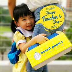 [Beard Papa Singapore] A teacher's dedication and patience are the greatest gift to any student.