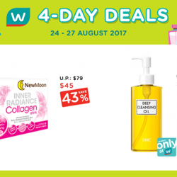 [Watsons Singapore] Pump up your mid-week with our 4-Day Deals!
