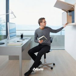 [Blum & Co] Optimal hardware for office furniture.