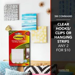 [Home-Fix Singapore] Keep your home organized with these promos from 3M!