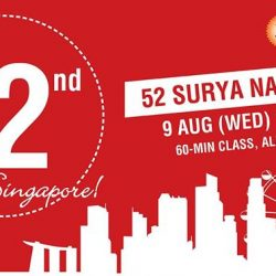 [Platinum Yoga] Join us as we celebrate National Day with a special 52 Surya Namaskar class, various offers on your class card &