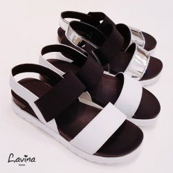 [Lavina] Our newest Basic Heeled Sandals are suitable for any casual wear for the weekends!