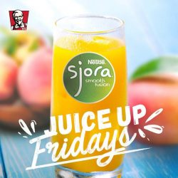 [KFC Singapore] Celebrate Fridays with a fruity twist!