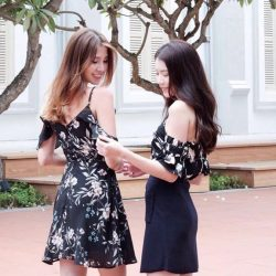 [MDSCollections] I'll have what she's having | Freesia Cami Dress in Black