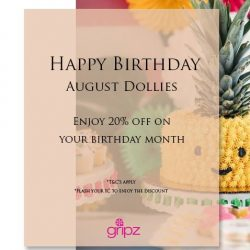 [Gripz] Happy Birthday August Dollies!