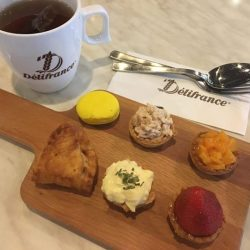 [Delifrance Singapore] Cross the midweek mark with our Teatime promotion, available from 3-5pm at selected outlets!