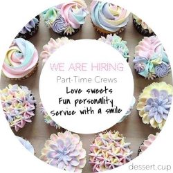 [dessert.cup] We are HIRING.