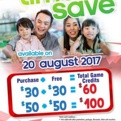 [Timezone] Visit us on this Sunday 20th Aug to enjoy the Time to Save promotion!