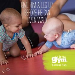 [The Little Gym] Do you have a child between 4 months - 10 months?