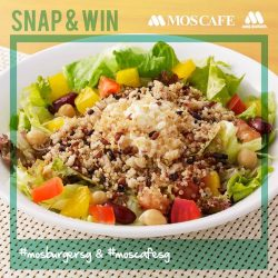 [MOS Burger] DINE, SNAP, TAG,  AND WIN!