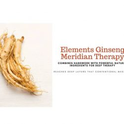 [Spa Infinity] Elements Ginseng Meridian Therapy (EGMT) is an active release technique that relieves tight muscles and trigger points.