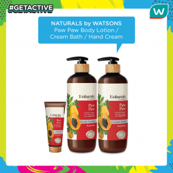 [Watsons Singapore] GETACTIVE with Watsons!