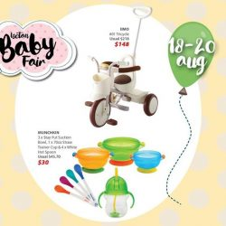 [Isetan] Don't miss out on our third Weekend Star Buy at our Baby Fair only available from 18 - 20 August!