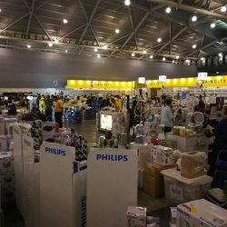 [Gain City] Expo Hall 6A is buzzing with activity today as customers hurry over to take advantage of amazing prices offered at