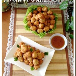 [THE SEAFOOD MARKET PLACE BY SONG FISH] Deep Fried Prawn Balls (干炸虾枣)Versatile and great for a party event.