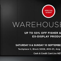 Fisher & Paykel: Warehouse Sale with Up to 50% OFF Ex-Display Products