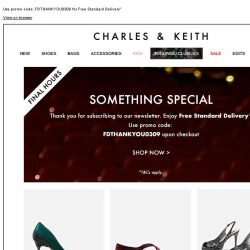 [Charles & Keith] Final Hours | Something Special