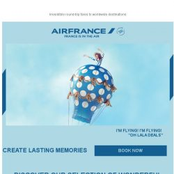 [AIRFRANCE] OH LALA! Take off and discover the world