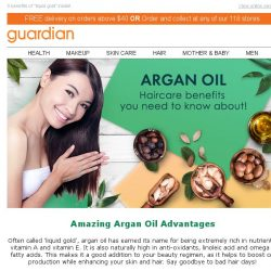 [Guardian] TRENDING: Argan oil does miracles with hair & skin. Find out how!