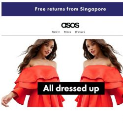 [ASOS] Dress it up