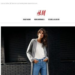 [H&M] Looking for the perfect jeans?