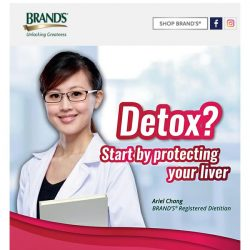 [Brand's] Concerned about your liver? Or are you're at risk of Fatty Liver Disease?