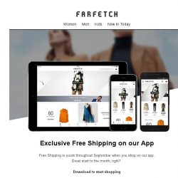 [Farfetch] App Exclusive...Free Shipping now on