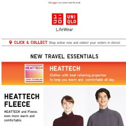[UNIQLO Singapore] Going somewhere cold this holiday?