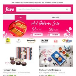 [Fave] What?! Ice-cream and snow skin mooncakes?