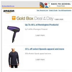 [Amazon] Up To 40% of Remington Products!