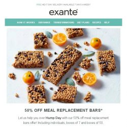 [Exante Diet] Exclusive Offer Inside...