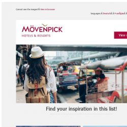 [Mövenpick Hotels & Resorts] ✈ From Marrakech to Bangkok: Top city breaks!