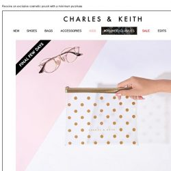 [Charles & Keith] FINAL FEW DAYS | BEAUTY IN BLOOM