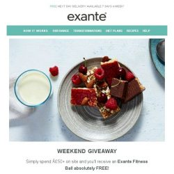 [Exante Diet] Weekend Giveaway...