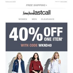 [Last Call] Boots & booties + 40% off 1 item