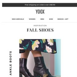 [Yoox] Inspiration: new season shoes