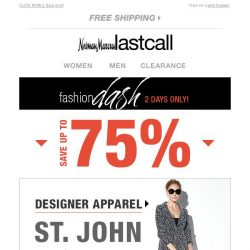 [Last Call] St. John + Oliver Peoples sunglasses (& more) up to 75% off