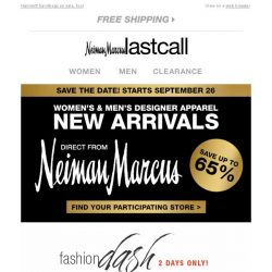 [Last Call] Stuart Weitzman sale! Don't miss your chance to save on fave shoes + Women's & Men's Designer New Arrivals in selected stores