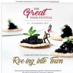 [Resorts World Sentosa] Be Part of The GREAT Food Festival's Connoisseur Collection!