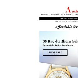 [Ashford] On Sale Today - 88 Rue du Rhone and Balmain Watches