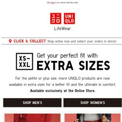 [UNIQLO Singapore] Everyone deserves a perfect fit.