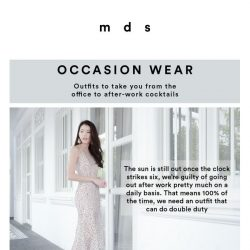 [MDS] 12 new arrivals online and 11am in-stores
