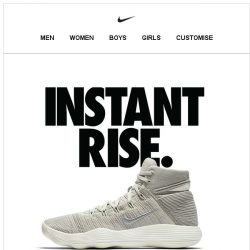 [Nike] Rise For the Game
