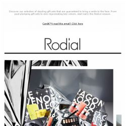 [RODIAL] Our Dazzling Festive Gift Collections Have Landed