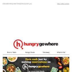[HungryGoWhere] Weekly makan joints & deals just for you,