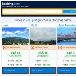 [Booking.com] Prices in Jeju are dropping for your dates!
