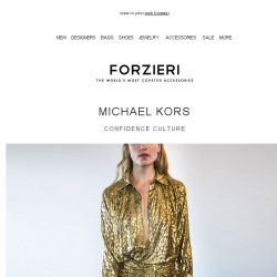 [Forzieri] The New Michael Kors has landed