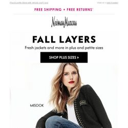 [Neiman Marcus] Fall jackets your wardrobe needs