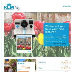 [KLM] Where will you take your next picture?