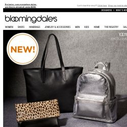 [Bloomingdales] Hold Please: AQUA Handbags Are Here, Plus Get a bMoney Gift Card